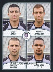 Nouri/Begeorgi/Riviere/Sylla (FC Istres Ouest Provence)