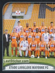 Equipe (puzzle 1) (Stade Lavallois Mayenne FC)