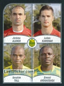 Alonzo/Kamenar/Tall/Akouassaga (FC Nantes)