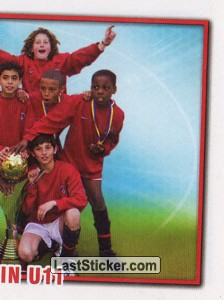 Paris Saint-Germain U-11 (Team), puzzle 2 (DooWap Panini Cup Winners)