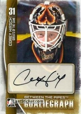 Corey Hirsch (Greats of the Game)