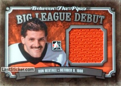 Ron Hextall (Big League Debut)
