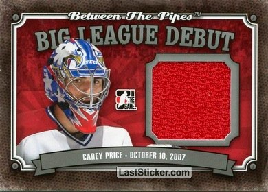 Carey Price (Big League Debut)