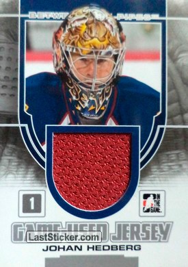 Johan Hedberg (Game-Used Jersey)