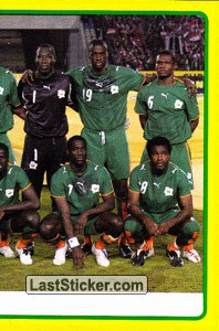 Ivory Coast team (2 of 2) (Ivory Coast)