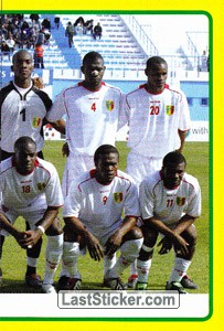 Ivory Coast team (2 of 2) (Mali)