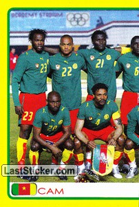 Cameroon team (1 of 2) (Cameroon)