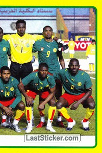 Cameroon team (2 of 2) (Cameroon)