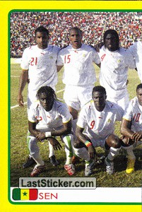 Senegal team (1 of 2) (Senegal)