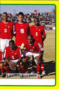 Namibia team (2 of 2) (Namibia)