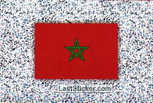 Flag of Morocco (Morocco)