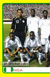 Nigeria team (1 of 2) (Nigeria)