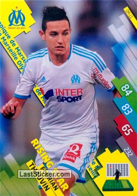 OM-11 ANDRE-PIERRE GIGNAC # MARSEILLE CARD ADRENALYN FOOT 2014 PANINI