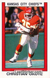 Christian Okoye (Kansas City Chiefs)