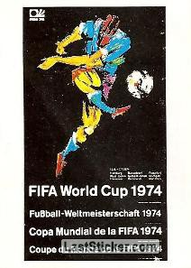 Poster West Germany 1974 (History)