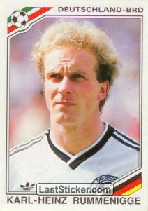 Karl-heinz Rummenigge (West Germany)