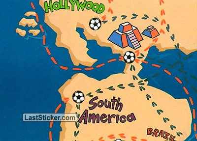South America (World Cup Map)