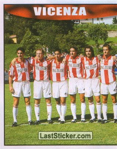 Vicenza team (left) (Vicenza)