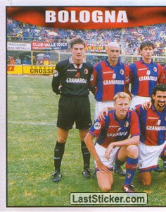 Bologna team (left) (Bologna)