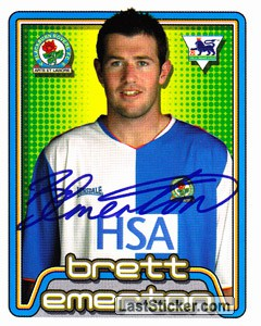 Brett Emerton (Blackburn Rovers)