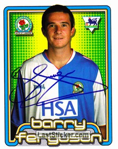 Barry Ferguson (Blackburn Rovers)