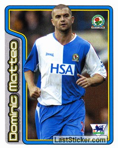 Dominic Matteo (Key Player) (Blackburn Rovers)