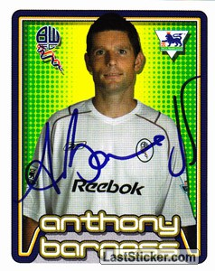 Anthony Barness (Bolton Wanderers)
