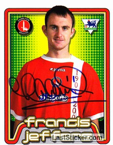 Francis Jeffers (Charlton Athletic)