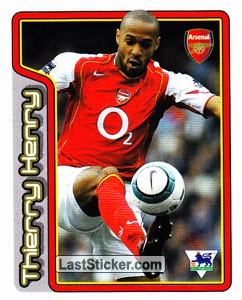 Thierry Henry (Key Player) (Arsenal)