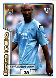Nicolas Anelka (Star Player) (Manchester City)
