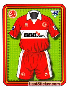 Home Kit (Middlesbrough)