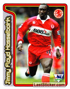 Jimmy Floyd Hasselbaink (Key Player) (Middlesbrough)