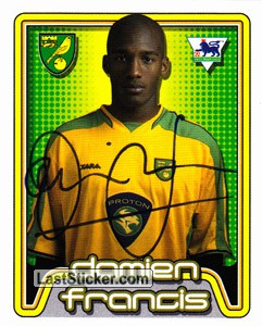 Damien Francis (Norwich City)