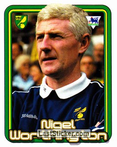 Nigel Worthington (The Manager) (Norwich City)