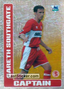 Gareth Southgate (Captain) (Middlesbrough)