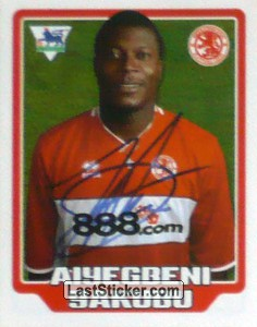 Aiyegbeni Yakubu (Middlesbrough)