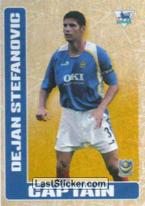 Dejan Stefanovic (Captain) (Portsmouth)