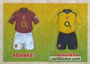 The Kits (a/b) (Arsenal)