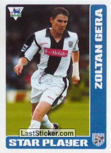 Zoltan Gera (Star Player) (West Bromwich Albion)