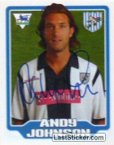 Andy Johnson (West Bromwich Albion)