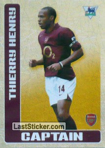Thierry Henry (Captain) (Arsenal)