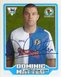 Dominic Matteo (Blackburn Rovers)