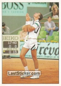 Guy Forget (Different Tennis)