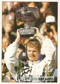 Jim Courier won Roland Garros (Major Cups Of Season)