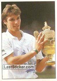 Michael Stich won Wimbledon (Major Cups Of Season)