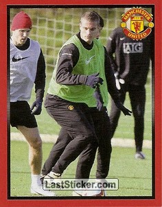 Nemanja Vidic in training (Nemanja Vidic)