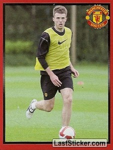Michael Carrick in training (Michael Carrick)