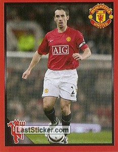 Right back - Gary Neville (Red devils ultimate legends)
