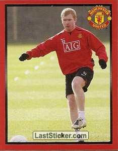 Paul Scholes in training (Paul Scholes)