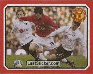 Fulham v Manchester United - Ji-Sung Park (2009 fixtures poster)